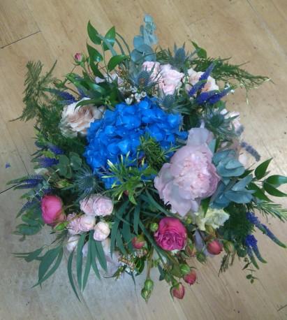 Autumn Hydrangea bouquet
